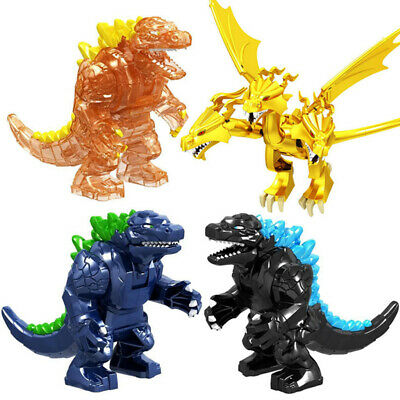 Godzilla King of the Monsters King Ghidorah Action Figure Building Blocks Toy uk