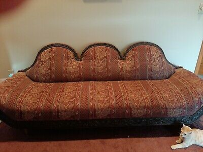 Vintage sofa couch and chair