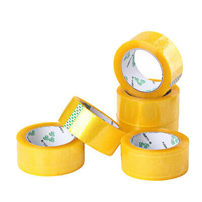 Express Packing Adhesive Tape Packing Transparent Tape Office Supply Yellow