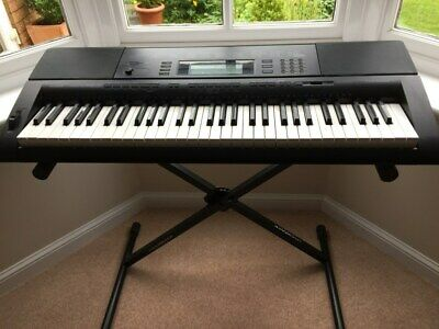 Casio Ctk 5000, 61 Note Piano Style Keyboard and stand  in very good condition.