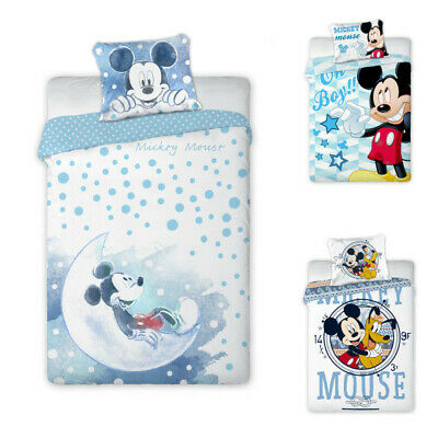 Disney Mickey Mouse Baby Bed Linen 100x135 CM