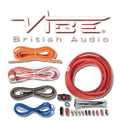 Vibe 4 Awg Gauge Speaker Subwoofer Amplifier Car Van Wiring Kit - Cl4Awkt-V7