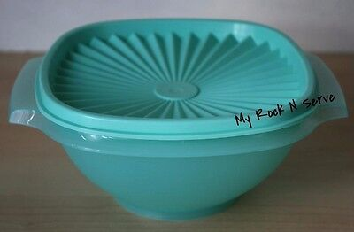Tupperware Small Classic Servalier Bowl Container 8 Cup Mint New