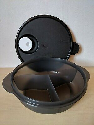 Tupperware Divided  Crystalwave Microwave Container 4 Cups NEW !!!