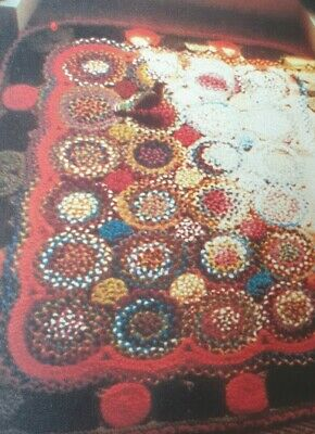 Weaving Plaited  Coiled Rug Pattern   Reproduced