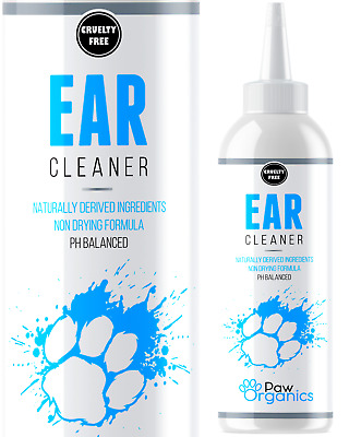 Ear Cleaner Wash Drops For Dogs & Cats - Stop Itching,Ear Odour & Head Shaking