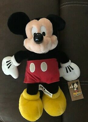 Collectible Walt Disney World Pal Mickey Mouse Plush and Pin Let's Celebrate