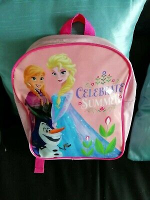 FROZEN Back Pack/Dressing Gown (2yrs)/Cap/ H&M 'Elsa' Top Age 2-4 years