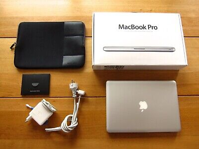 ★ Apple MacBook Pro 9,2  (MD101D/A) 13,3 Zoll + ADOBE CS6 Master Creative Cloud