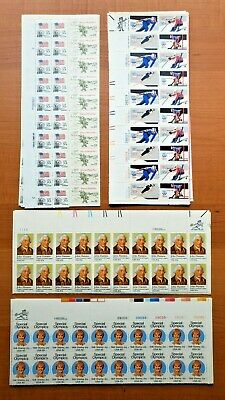 Mint NH US Discount Postage Sheets With Face Value of $106.00 Starting 50%