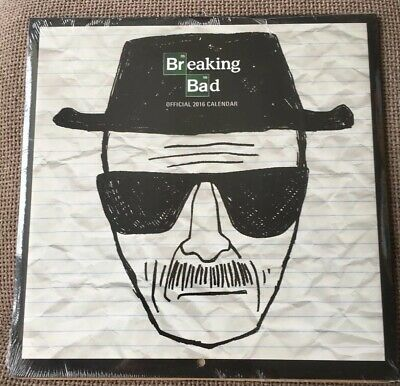 Breaking Bad Official 2016 Calendar. New And Sealed