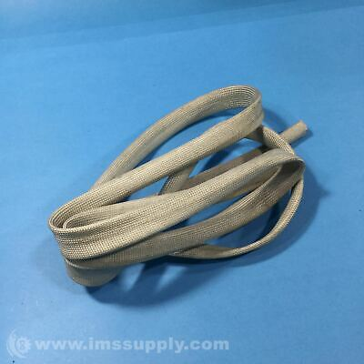 Braided Sleeve Cover, White Usip