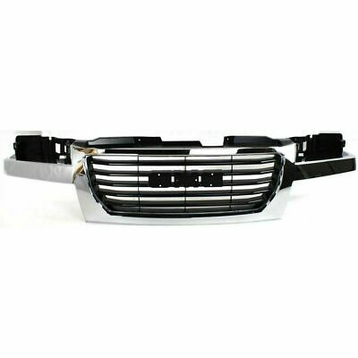 New Chrome / Gray Grille For 04-12 GMC Canyon 12335793 GM1200530