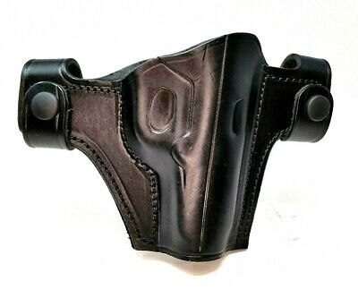 WALTHER PP / PPK | Cebeci Leather Pancake OWB Holster Combat
