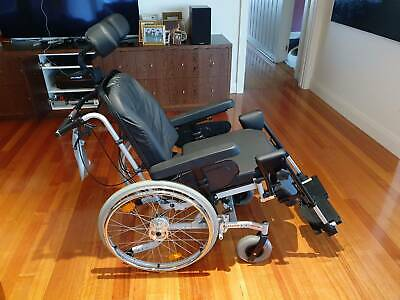 Aspire Rehab RX Tilt Wheelchair with ROHO High Profile Cushion