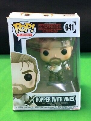 Funko Pop TV: Strangers Things-Hopper with Vines Collectible Figure