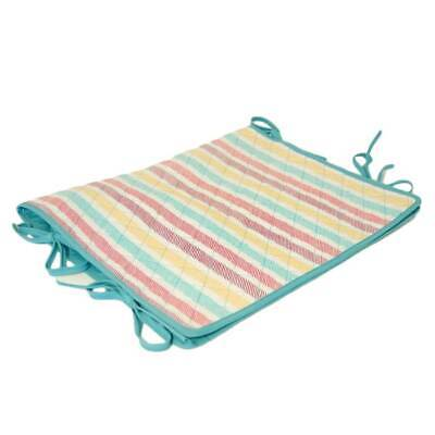 Sketch Stripe' Padded Sewing Machine Cover with Green Trim, & Tie Fasteners