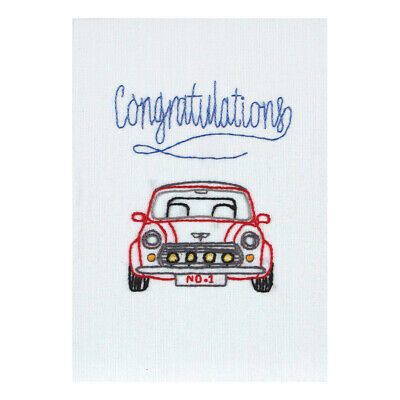 ANCHOR | Embroidery Kit: Congratulations - Gift Card | RDK46