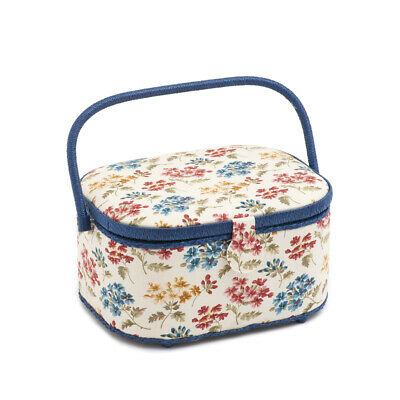 S&W Collection HGLO282 | Large Oval Sewing Box | Fairfield Pattern