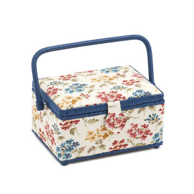 S&W Collection HGM282 | Medium Rectangle Sewing Box | Fairfield Pattern