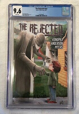 THE REJECTED #1 #nn - CGC 9.6 - Source Point Press - First Print