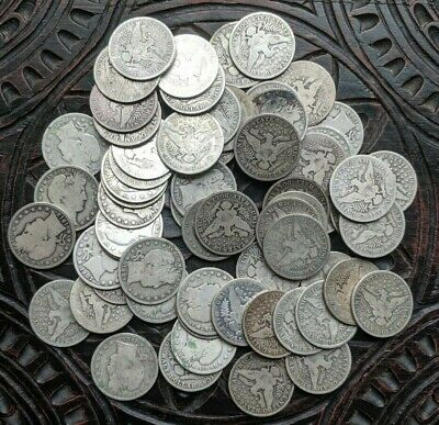 Silver Barber Half Dollar Coin Lot  - CHOOSE HOW MANY - Old Good to Better Coins