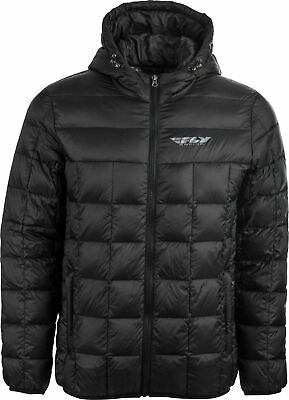Fly Racing Spark Down Jacket Md Black 354-6180M
