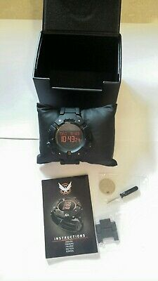 Official Tom Clancy's The Division Agent Watch Replica - NEW Limited Edition