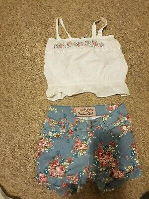 Girls size 10 mixed summer set