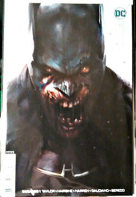 Dc Dceased #1 Francesco Mattina Variant Mint