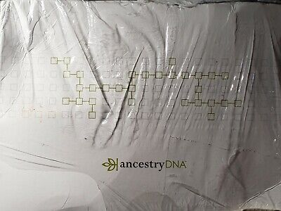 Ancestry DNA Genetic Testing-DNA Ancestry Test Kit -Damaged Box