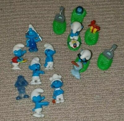 Assorted Smurfs Minatures (PEYO) Vintage 1993, Collectables