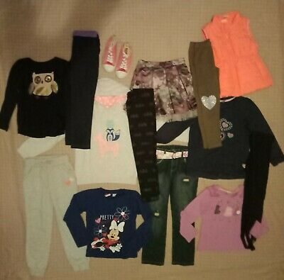 Girls Clothes Size 6 Bulk Pack With 17 Items Inc Zara H&M And Joggers
