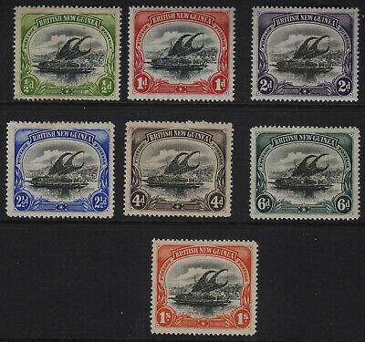 BRITISH NEW GUINEA 1901 Selection of 6 MINT Stamps 2 Scans