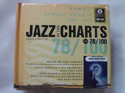 JAZZ IN THE CHARTS 78/100 1944-1945 Hamp`s Boogie Woogie Trx 1705-1728 NEU!!!