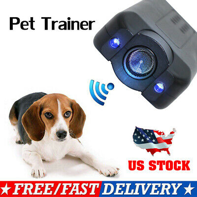 Petgentle Dog Ultrasonic Anti Barking Pet Trainer Gentle Led Light-Chaser Style