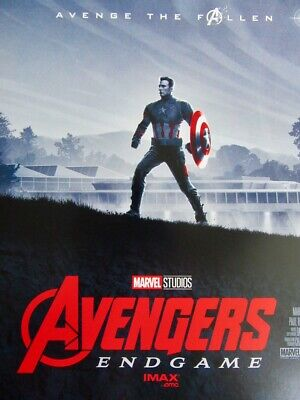 *HOLLYWOOD EXCLUSIVE* Avengers End Game Imax Movie Poster Marvel Studios