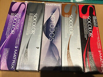 Assorted Matrix SoColor Permanent Creme Hair Colour Tint 85g   flat fee postage
