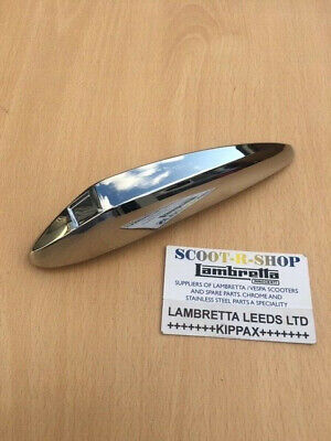 Vespa Gts Front Mudguard Flash. Chrome.part No 650748 -  Brand New