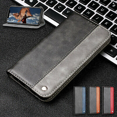 For iPhone 8 Plus 7 6 5 XS Max XR X Case Magnetic Leather Slim Card Wallet Cover