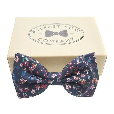 Bow Tie Mens NEW Bowtie Adjustable Dickie SHIMMERY RIBBED MAUVE PURPLE