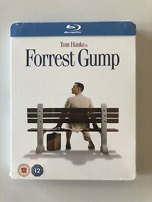 """Steelbook Blu-Ray """" Forrest Gump """" UK Limited Edition NEW"""