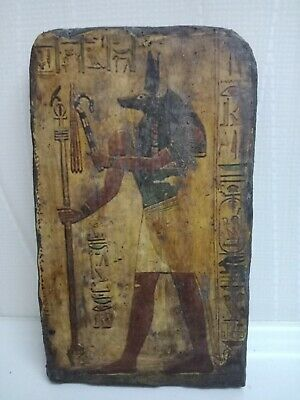 Anubis the dead and the embalming civilization of ancient Egypt. Wood