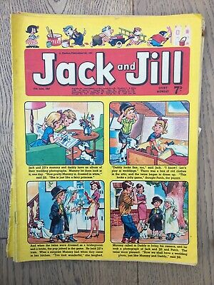 Jack And Jill Comics - Vintage Comics - 5 From 1965 & 7 From 1967 & 3 From 1968