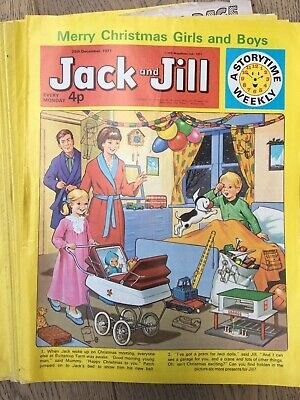 Jack And Jill Comics 44 Copies From 1971 Including Christmas Edition