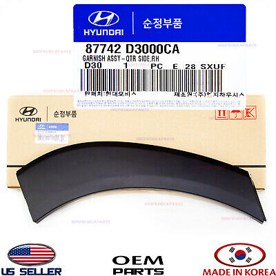 HYUNDAI OEM 16-18 Tucson QUARTER PANEL-Wheel Opening Molding Right 87742D3000CA