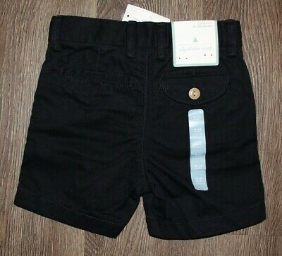 Baby Gap *NWT* Toddler Boys Navy Chino Style Shorts - Size 18-24 Months