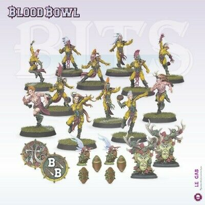 Blood Bowl The Athelorn Avengers Wood Elf Blood Bowl Team Gw 2019
