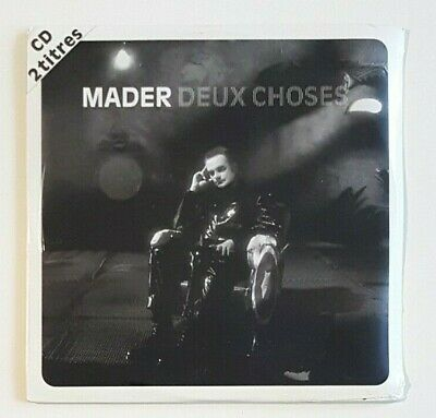 JEAN-PIERRE MADER : DEUX CHOSES (REMIX) ♦ Neuf - CD Single ♦