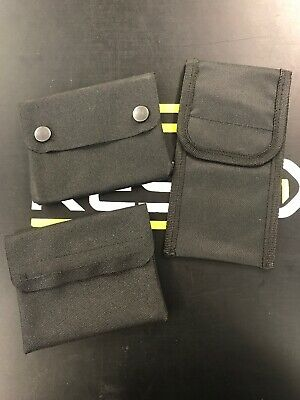 25 SETS Tool Belt Attachment Pocket Velcro Work Electrician Plumber Vehicle Wrap
